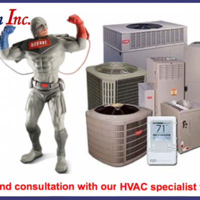 Sale and Installation of HVAC Systems in Montreal West Island